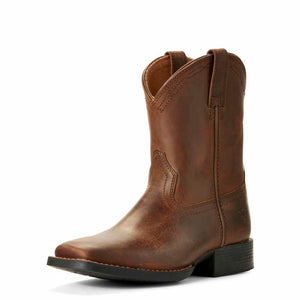 The Kid's Heritage Ariat Roper in Dusty Brown