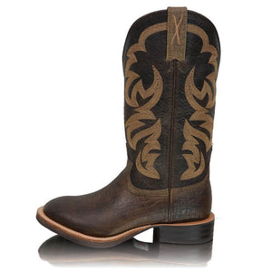 Men's Twisted X Ruff Stock Boots Tobac and Taupe