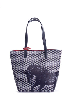 Thomas Cook Horse Print Tote Bag