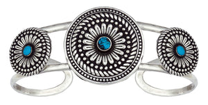 Women's Montana Silversmiths Desert Flower Triple Bloom Cuff Bracelet