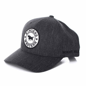 Ringers Western - Burnt Black Brindle Baseball Cap