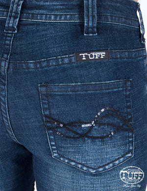 Women's Cowgirl Tuff Sassy Trouser Jeans