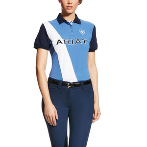 The Women's Blue Saga Taryn Ariat Polo