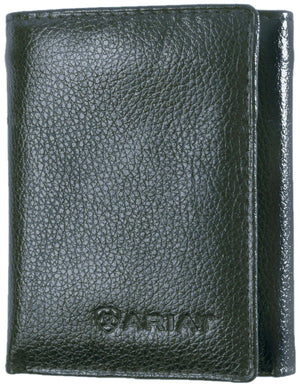 Ariat Trifold Black Wallet