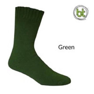 Bamboo Socks Extra Thick Green - Diamond K Country