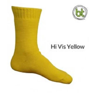 Bamboo Socks Extra Thick Yellow - Diamond K Country