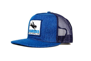 The Campdraft Aus - Blue Denim Khan Rodeo Cap