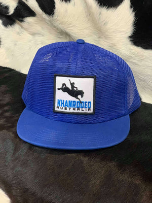The Campdraft Aus - Royal Blue Khan Rodeo Cap