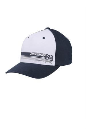 Men's Cinch Navy and White Cap FlexiFit