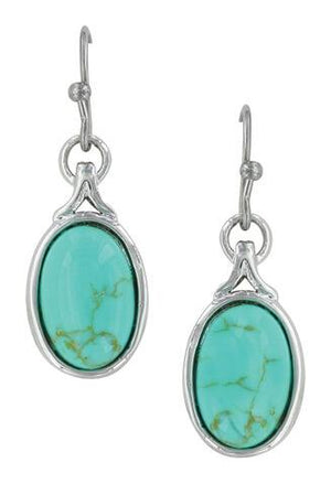 Women's Montana Silversmiths On Top If The World Turquoise Earring