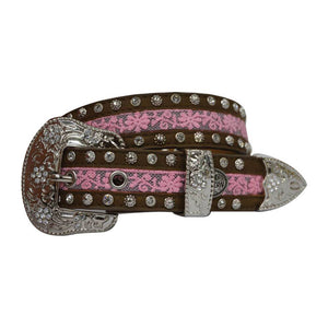 Girl's Pure Western Ivy Belt - Diamond K Country