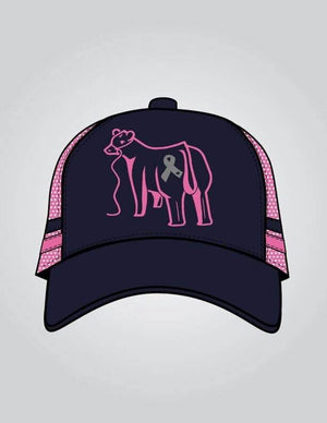 Love for Lily - Navy & Pink Trucker Cap