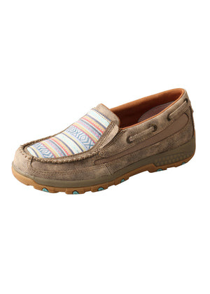 Women's Twisted X Aztec Cellstretch Slip On Mocs