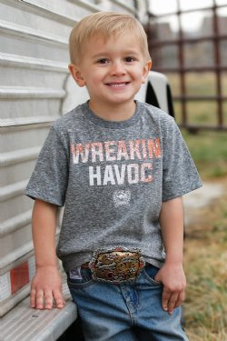 Kid's Cinch Wreakin Havoc Graphic Tee
