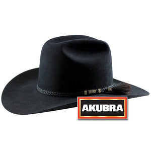 Akubra Arena Black Hat