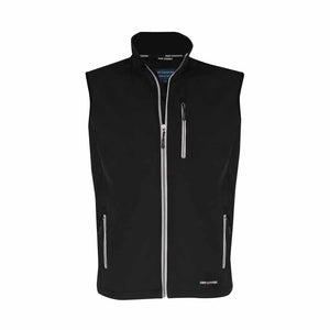 Men's Just country Geoffrey Black Softshell Vest