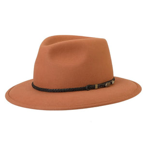 Akubra Traveller Rust Hat