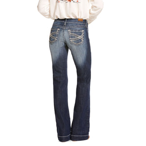 Women's Ariat Entwined Marine Trouser Jeans