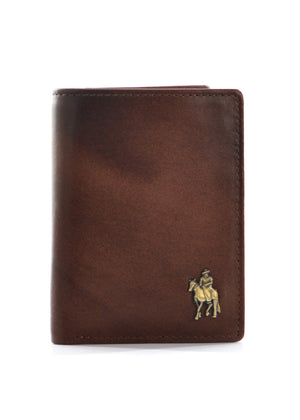 Thomas Cook Cootamundra Brown Leather Tri-Fold Wallet