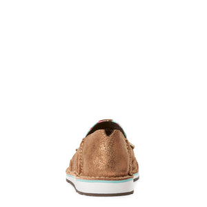 Women's Ariat Cruiser Metallic Bronze / Leopard Cactus