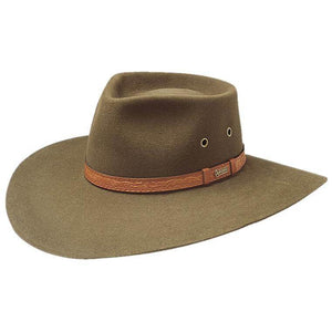 Akubra Territory Hat Khaki - Diamond K Country
