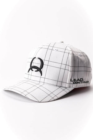 Cinch Flexfit White Cap