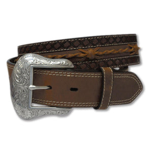 The Women's Twisted X Belt Brown