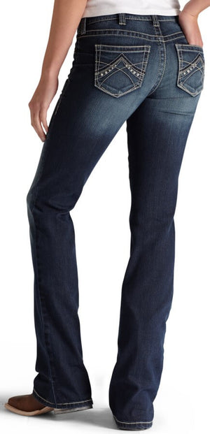 Women's Ariat R.E.A.L. Boot Cut Jeans Spitfire