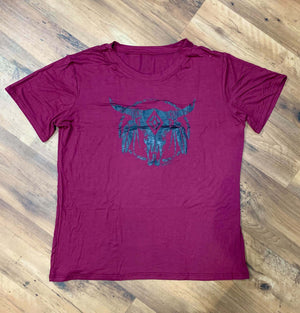 Boho Steerhead Graphic Tee