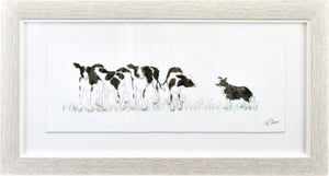 Lavida Framed Counting Cows