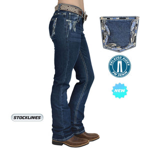 Women's Pure Western Louisiana Relaxed Rider Jeans