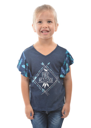 Girl's Pure Western Alice Top P8S5511163