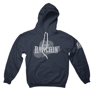 Dale Brisby Wear -Just Ranchin Hoodie