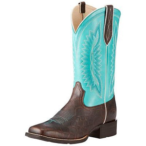 Women's Ariat Quickdraw Legacy - Rowdy Croc