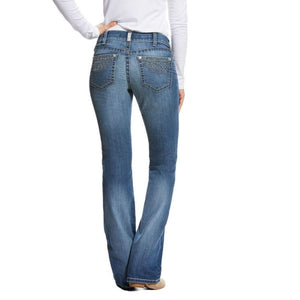 Women's Ariat R.E.A.L Folk Flower Bootcut Jeans