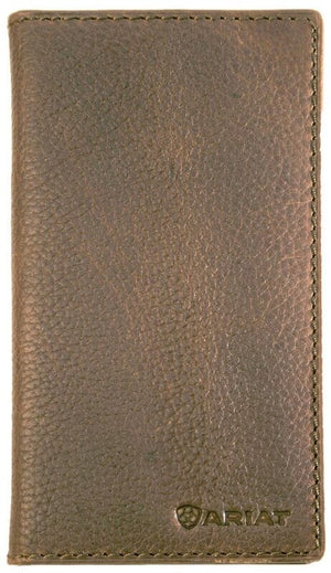 Ariat Rodeo Distressed Brown Wallet