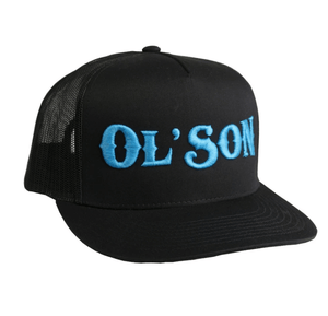 Dale Brisby Wear - Ol' Son Black Mesh Cap