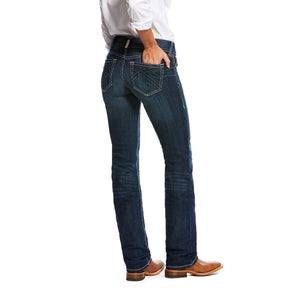 Women's Ariat R.E.A.L Willow 3D Mid Rise Straight  Jeans