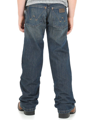 Boy's Wrangler Retro Bootcut Jeans - Diamond K Country