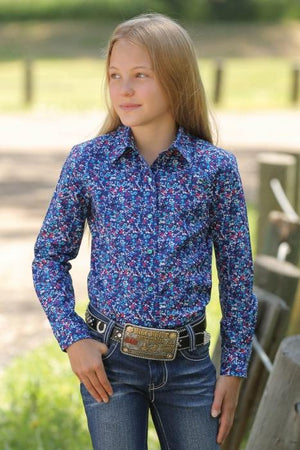 Girl's Cruel Girl Alura Shirt - Diamond K Country