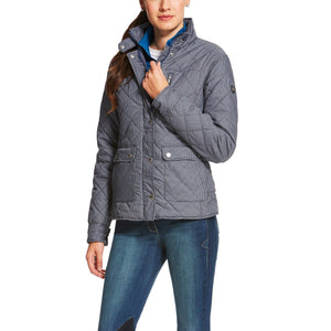 Women's Ariat Cornet Jacket Blue Check