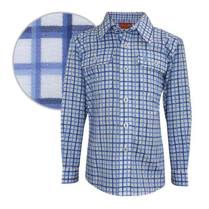 The Boy's Thomas Cook Finn Check 2 Pocket Shirt