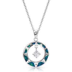 Montana Silversmiths - Stay True Opal Necklace