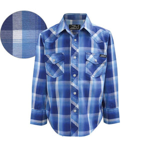 Boy's Pure Western Gavin Print Shirt - Diamond K Country