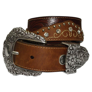 The Women's Wrangler Rylstone Belt in Coffee