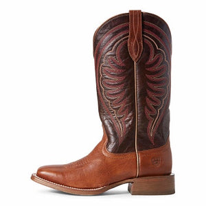 Women's Ariat Circuit Shiloh Nomad - Brown and Madder Brown
