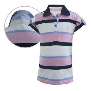 Girl's Thomas Cook Belle Stripe S/S Polo T8S5510048