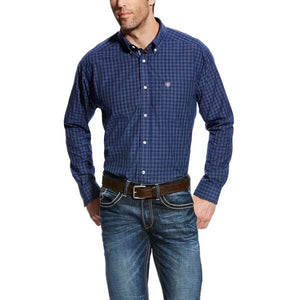 Men's Ariat Gage Shirt Mood Indigo