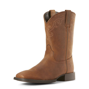 Women's Ariat Heritage Roper Wide Square Toe Western Boots