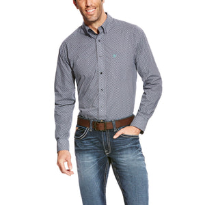 Men's Ariat Argo Print Shirt - Diamond K Country
